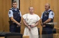Підозрюваний у теракті в мечетях Нової Зеландії не визнає своєї провини