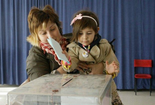 Голосование в Сербии