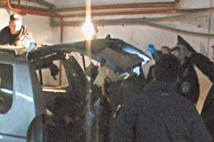 МВД: взрыв джипа в центре Киева был покушением на убийство