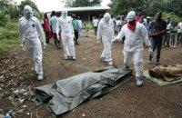 Число жертв лихорадки Эбола в Западной Африке выросло до 2300 человек