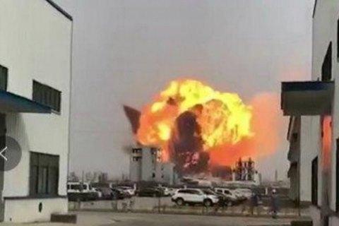 Кількість жертв вибуху на китайському заводі зросла до 47 осіб
