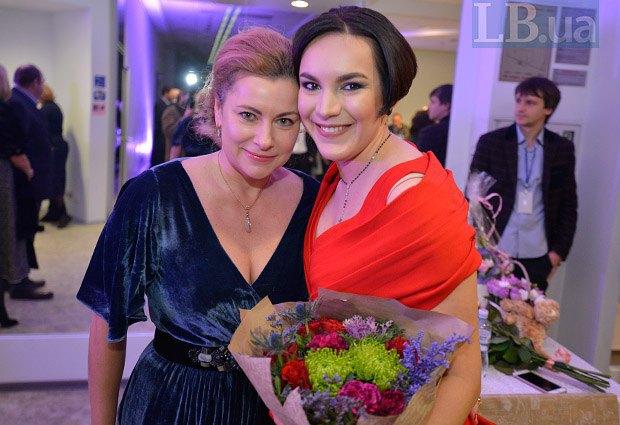 Власта Шовковская и Соня Кошкина