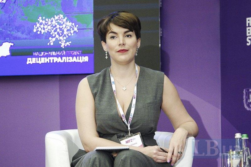 Шеф-редактор информационного портала LB.ua Соня Кошкина (модератор второй панели)