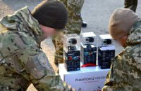 Волонтеры передали хмельницкому спецназу джип и квадрокоптер с камерами
