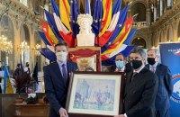 Знайдену в Києві картину художника Поля Сіньяка повернули в музей у Нансі