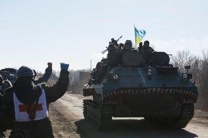Штаб АТО: при выходе из Дебальцево погибли шесть военных