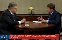 """Порошенко назвав """"кредит Януковича"""" російським хабарем"""