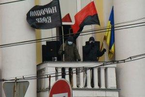 Міліція порушила справу за фактом захоплення Вінницької ОДА