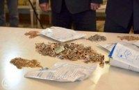 Київська міліція повернула вкрадене з Володимирського собору золото