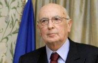 Президент Італії пішов у відставку