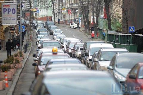Київгенплан запропонував зробити в'їзд у центр платним