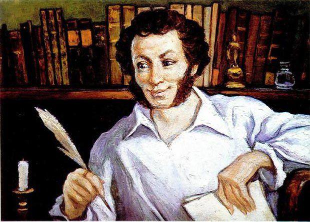 Тетрадку со стихами Баркова Саша Пушкин нашел у своего дяди Льва