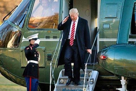 У Білому домі анонсували першу закордонну поїздку Трампа