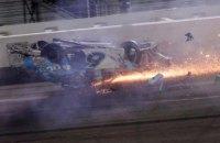 """У найпрестижнішій гонці NASCAR - """"Дайтоні 500"""" сталася жахлива аварія"""
