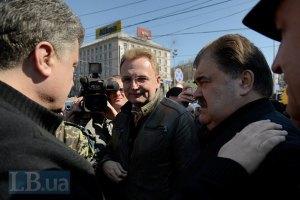 Мер Львова веде свою партію на вибори в Київраду