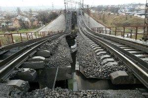 У Запорізькій області підірвали залізничний міст