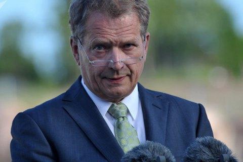 Президент Фінляндії у вересні відвідає Київ і зустрінеться із Зеленським