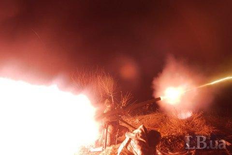 Військовий загинув, трьох поранено за добу на Донбасі