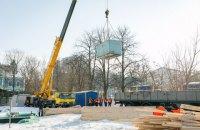 У Києві розпочалися підготовчі роботи зі спорудження меморіалу Героїв Небесної сотні
