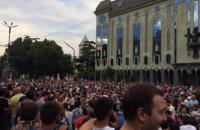 У Тбілісі почалася акція з вимогою відставки глави МВС