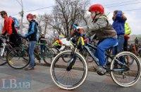 КМДА вирішила побудувати велодоріжку на Троєщину