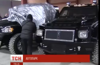 В Гостомеле нашли брошенный автопарк сына Януковича