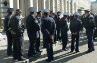На улицы Львова вывели усиленные подразделения милиции