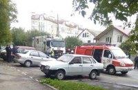 Мусоровоз сбил насмерть двух женщин во Львове