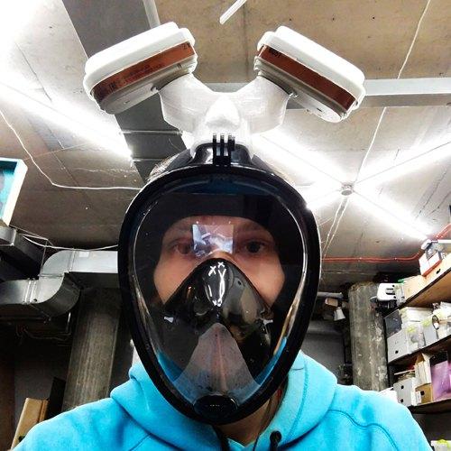 Захист на основі маски для снорклінгу