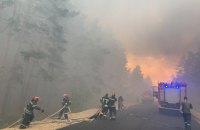 У Луганській області через лісові пожежі загинуло 5 осіб, евакуюють мешканців двох селищ
