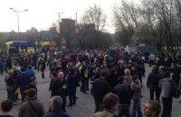 У Донецьку на мітинг за Україну вийшли 2 тис. осіб (онлайн)