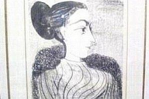 Літографію Пікассо, вкрадену у Лазаренка, знайшли під парканом