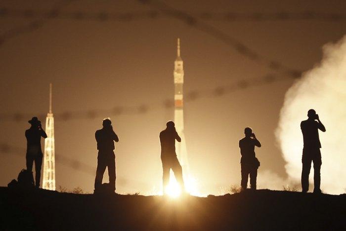 Запуск космического корабля 'Союз МС-13'