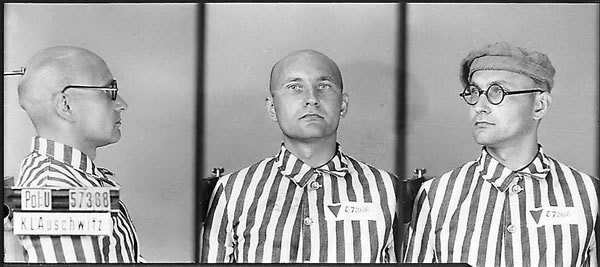 Лев Ребет в концтаборі Аушвіц