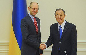 Генсек ООН привітав Україну з підписанням Угоди про асоціацію з ЄС