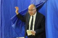 На виборах у Раду проголосували Парубій, Тимошенко, Разумков і інші політики