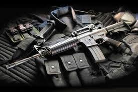 Милиция нашла у жителя Киева 6 автоматов Калашникова и ручной пулемет