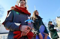 В Киеве почтили память убитого в Крыму Решата Аметова