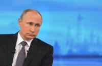 Путін майже на годину запізнився на зустріч з Папою