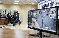 Кличко показал экс-мэру Нью-Йорка систему видеонаблюдения в Киеве