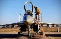 Повітряним силам ЗСУ передали відремонтований винищувач Міг-29