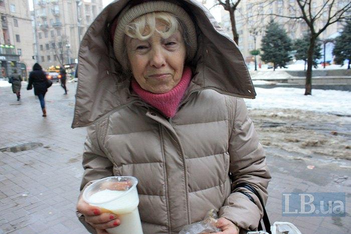 Серед тих, хто приходить безкоштовно поснідати, чимало пенсіонерів