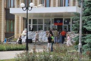 Боевики ушли из мэрии Артемовска
