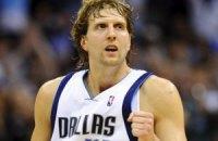 Новіцкі, зробивши ювілейний підбір, увійшов в елітарний клуб НБА