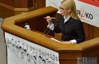 Тимошенко увидела в нынешнем сотрудничестве с МВФ угрозу для страны