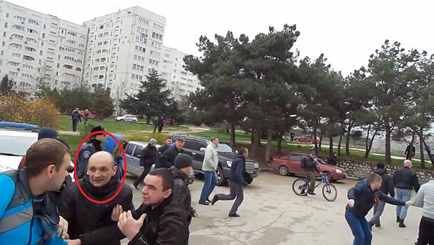 Микола Шиптур на акції 9 березня намагався попередити сутички.