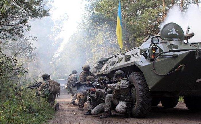 Міжнародні військові навчання Rapid Trident-2018, в яких взяли участь військовослужбовці з України та 10 країн-членів НАТО і країн-учасниць програми 'Партнерство заради миру'.