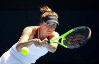 Свитолина вышла в полуфинал турнира WTA в Майами