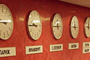 Россия поделилась на часовые зоны