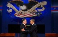 Відставання Ромні від Обами - близько двох відсотків